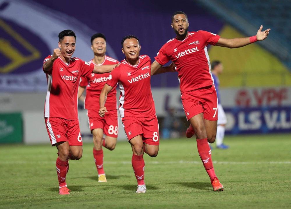 ẢNH: CLB Viettel lần đầu tiên thắng CLB Hà Nội trong trận derby thủ đô ở V.League - Ảnh 11.