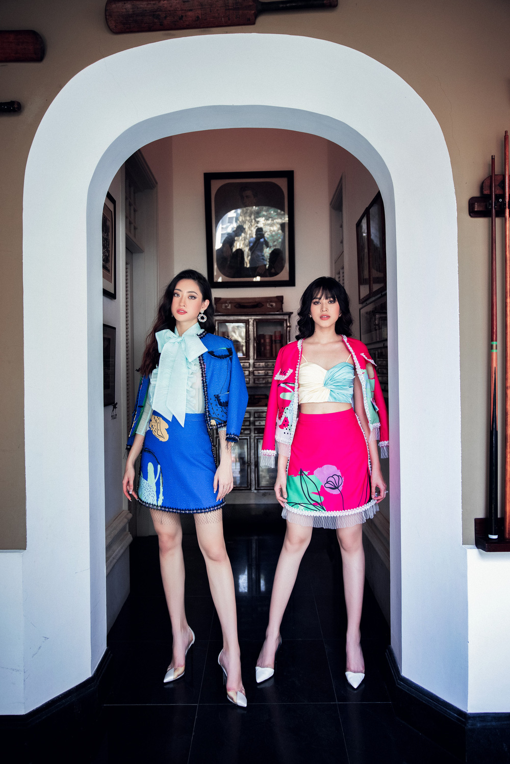 Hoa hậu Đỗ Thị Hà khác lạ với tóc mái ngang - Ảnh 1.