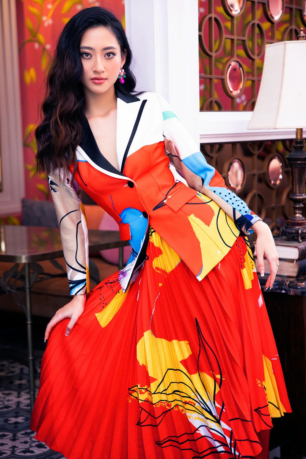 Hoa hậu Đỗ Thị Hà khác lạ với tóc mái ngang - Ảnh 5.