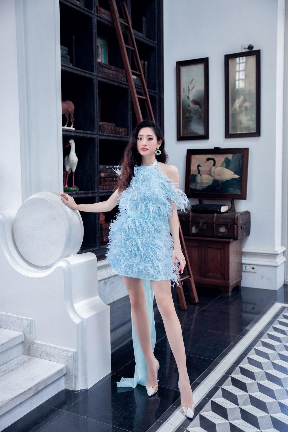 Hoa hậu Đỗ Thị Hà khác lạ với tóc mái ngang - Ảnh 9.