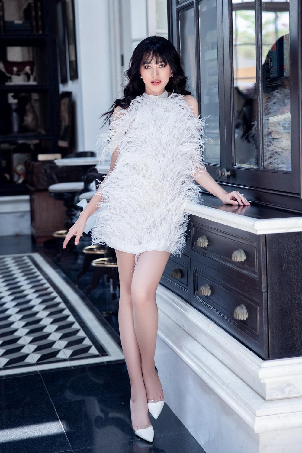Hoa hậu Đỗ Thị Hà khác lạ với tóc mái ngang - Ảnh 8.