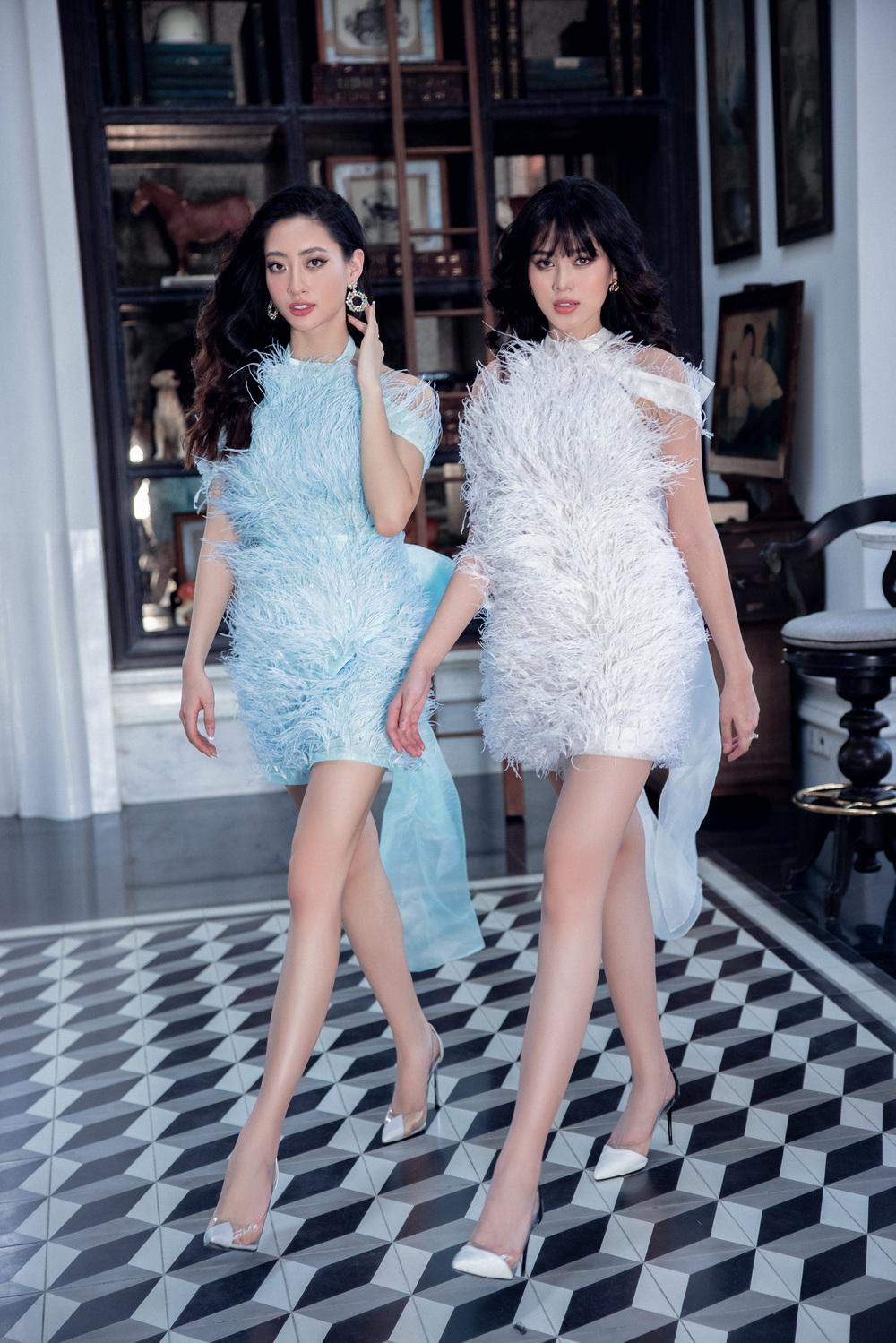 Hoa hậu Đỗ Thị Hà khác lạ với tóc mái ngang - Ảnh 7.