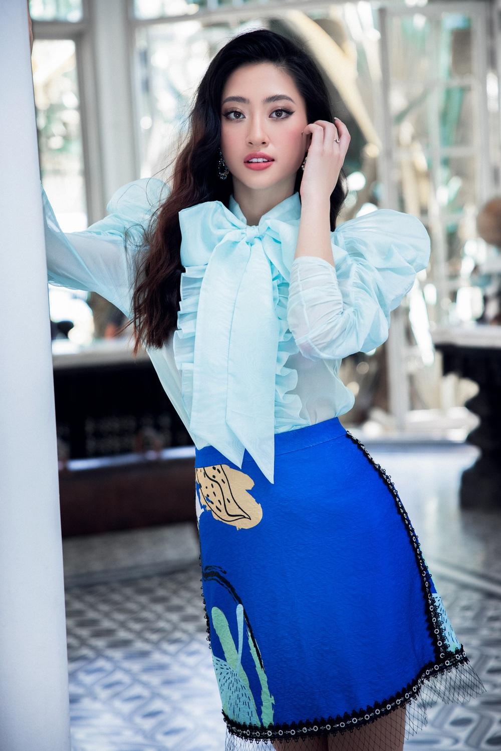 Hoa hậu Đỗ Thị Hà khác lạ với tóc mái ngang - Ảnh 6.