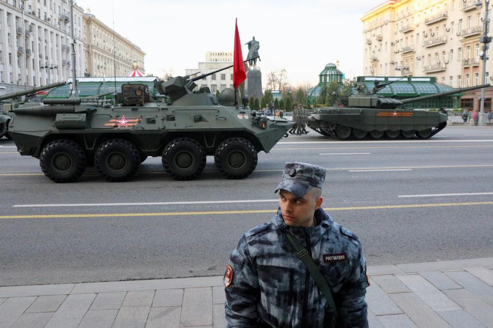 Nga diễn tập duyệt binh kỷ niệm Ngày Chiến thắng - Ảnh 1.