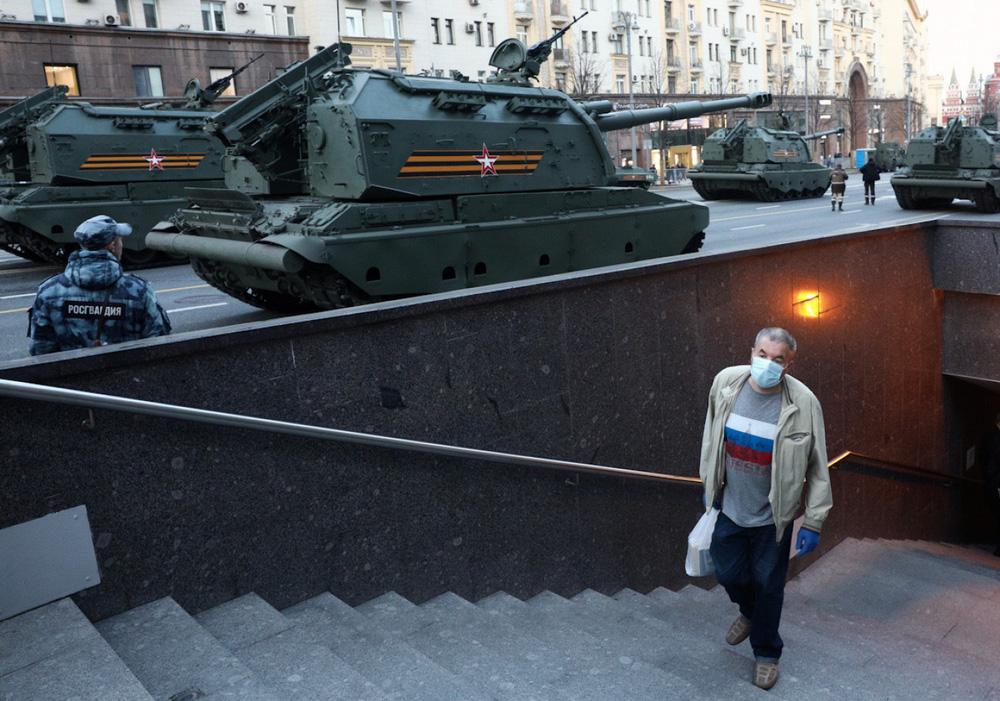 Nga diễn tập duyệt binh kỷ niệm Ngày Chiến thắng - Ảnh 3.