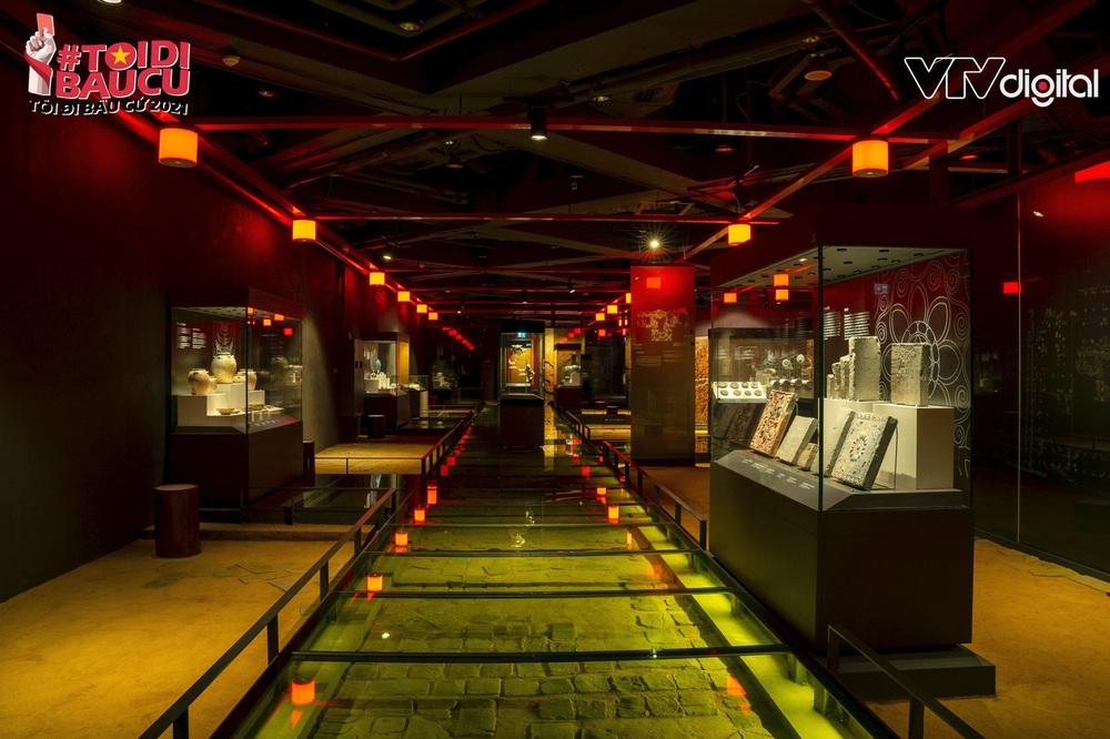 Khu trưng bày khảo cổ học dưới lòng đất độc nhất vô nhị của Tòa nhà Quốc hội Việt Nam - Ảnh 3.