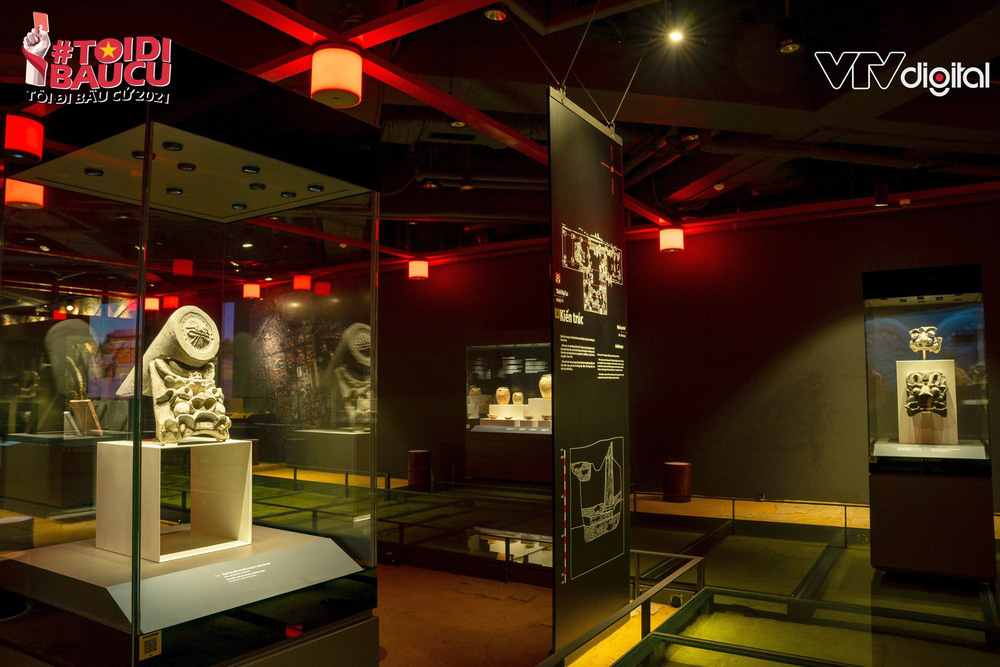 Khu trưng bày khảo cổ học dưới lòng đất độc nhất vô nhị của Tòa nhà Quốc hội Việt Nam - Ảnh 6.