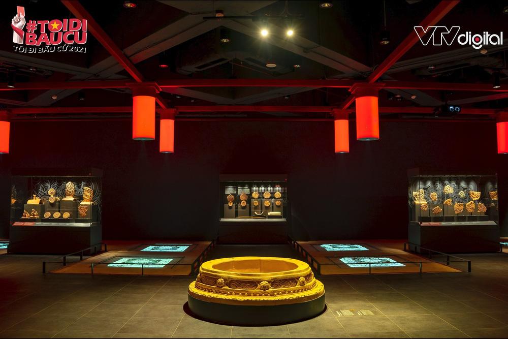 Khu trưng bày khảo cổ học dưới lòng đất độc nhất vô nhị của Tòa nhà Quốc hội Việt Nam - Ảnh 8.