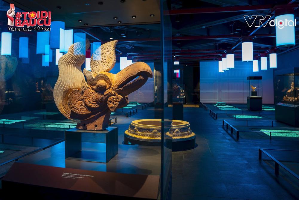 Khu trưng bày khảo cổ học dưới lòng đất độc nhất vô nhị của Tòa nhà Quốc hội Việt Nam - Ảnh 9.