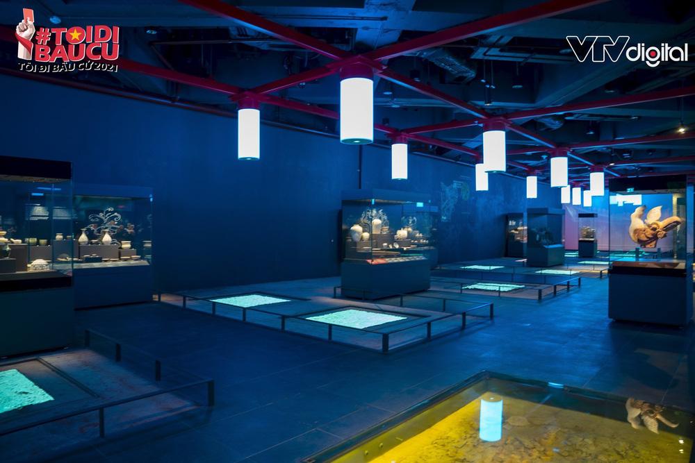 Khu trưng bày khảo cổ học dưới lòng đất độc nhất vô nhị của Tòa nhà Quốc hội Việt Nam - Ảnh 7.