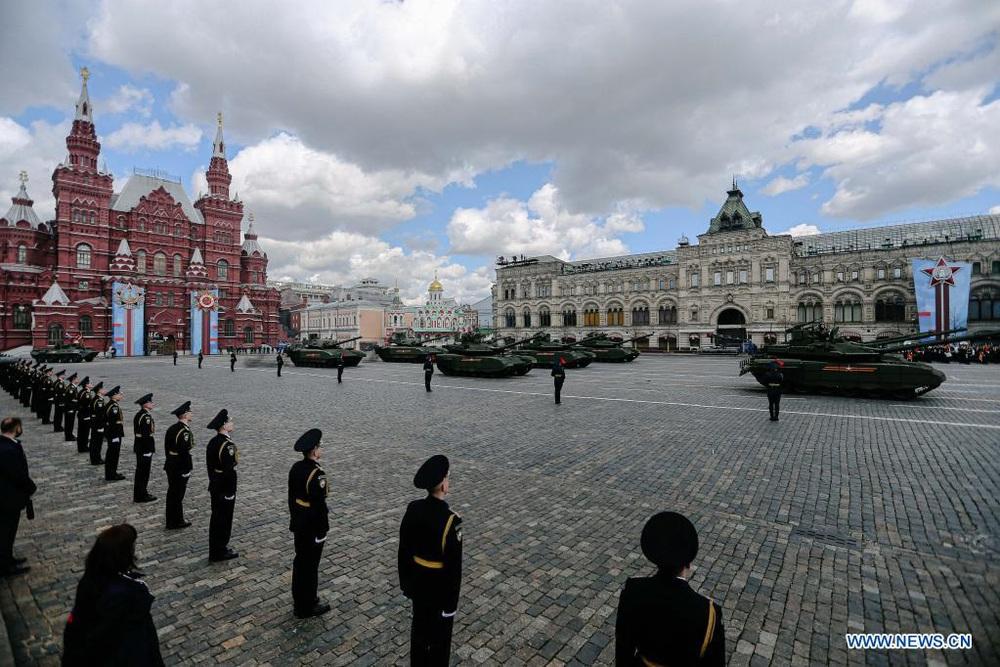 LB Nga long trọng tổ chức lễ duyệt binh kỷ niệm 76 năm chiến thắng trong Chiến tranh Vệ quốc vĩ đại - Ảnh 1.