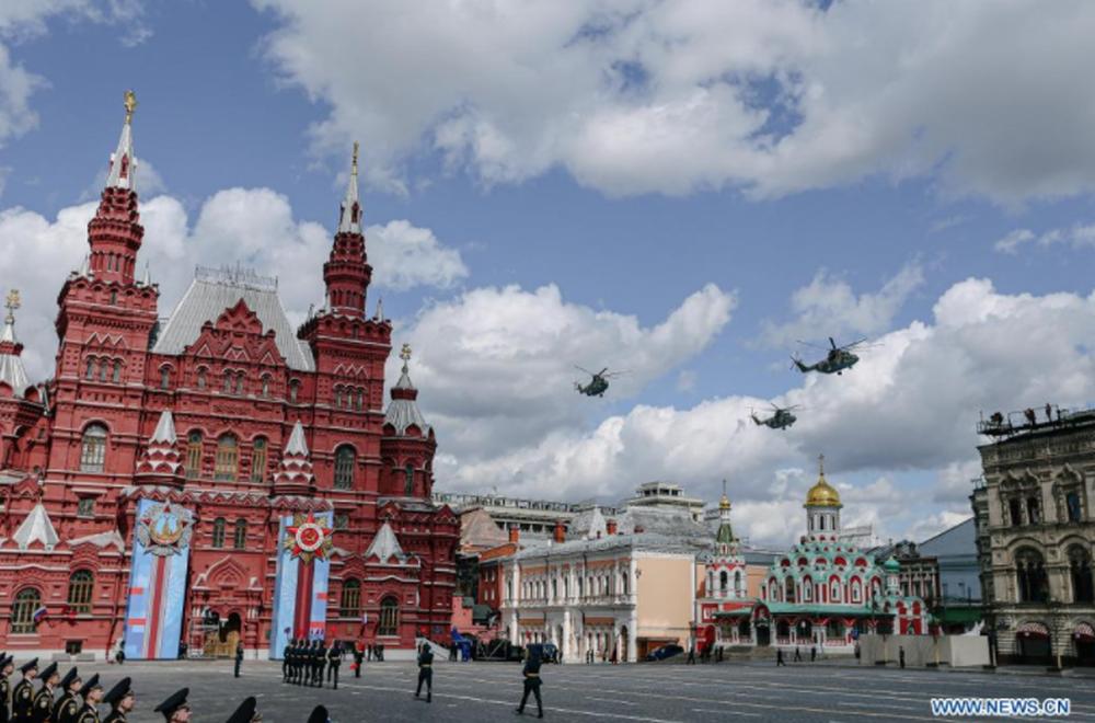 LB Nga long trọng tổ chức lễ duyệt binh kỷ niệm 76 năm chiến thắng trong Chiến tranh Vệ quốc vĩ đại - Ảnh 6.