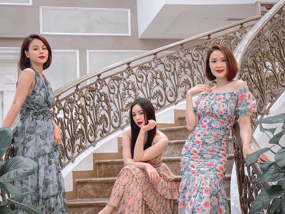 Dàn diễn viên diện đầm trễ vai: Phương Oanh, Bảo Thanh đẹp không tì vết, Hồng Diễm hack tuổi thần sầu - Ảnh 4.