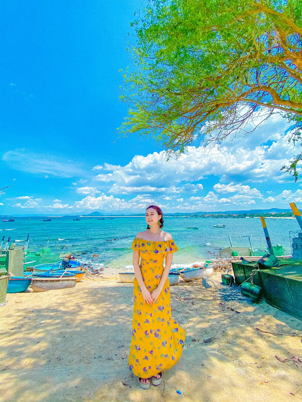 Dàn diễn viên diện đầm trễ vai: Phương Oanh, Bảo Thanh đẹp không tì vết, Hồng Diễm hack tuổi thần sầu - Ảnh 10.