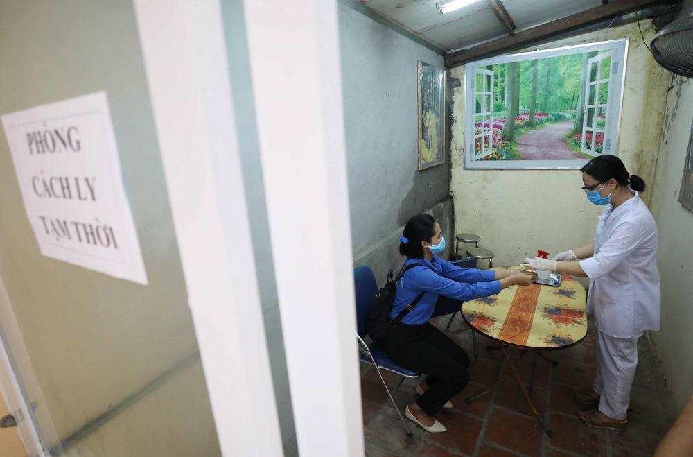 Hà Nội diễn tập phòng, chống dịch COVID-19 cho kỳ thi vào lớp 10 - Ảnh 15.