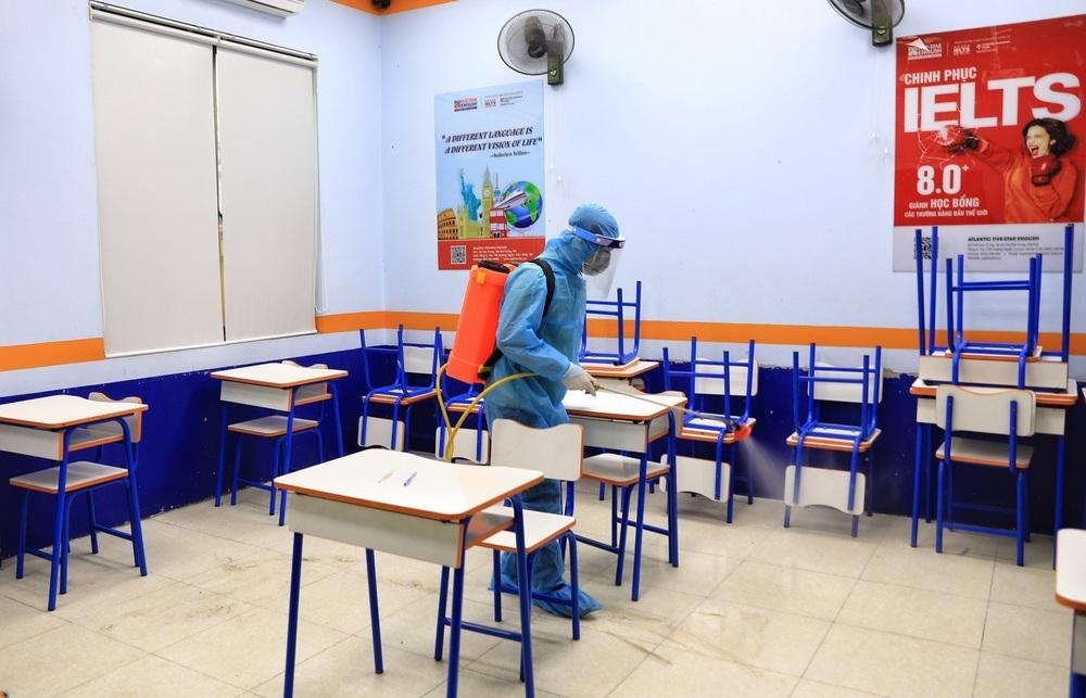 Hà Nội diễn tập phòng, chống dịch COVID-19 cho kỳ thi vào lớp 10 - Ảnh 31.