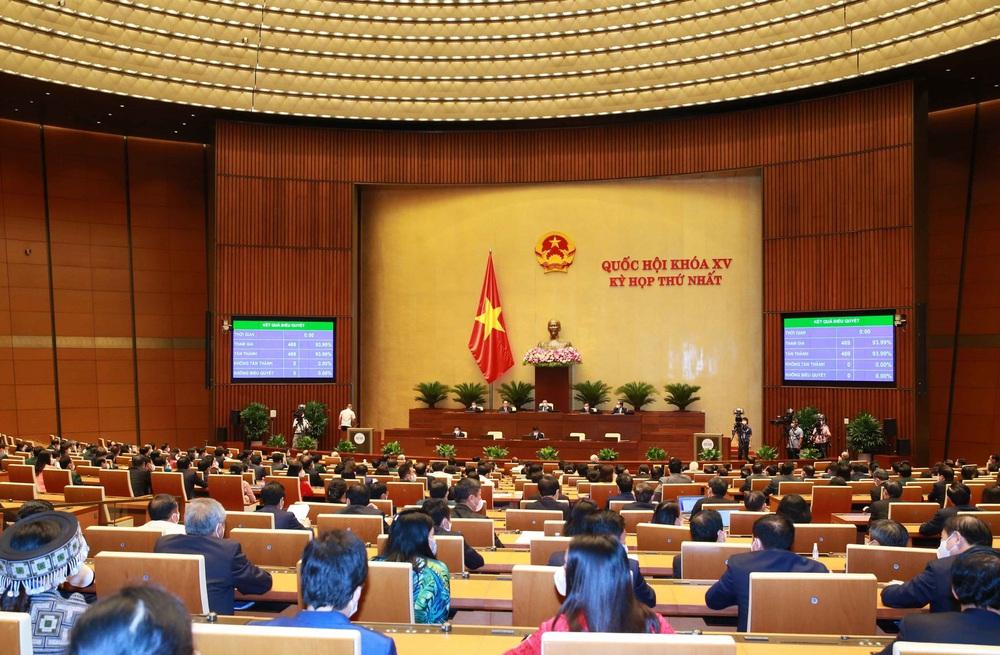 Quốc hội thống nhất cao về công tác nhân sự, trao thượng phương bảo kiếm chống COVID-19 - Ảnh 7.