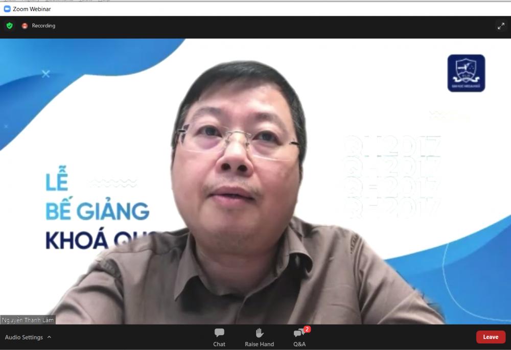 Lễ bế giảng trực tuyến ý nghĩa của sinh viên ĐH Ngoại Ngữ, ĐHQG Hà Nội - Ảnh 4.