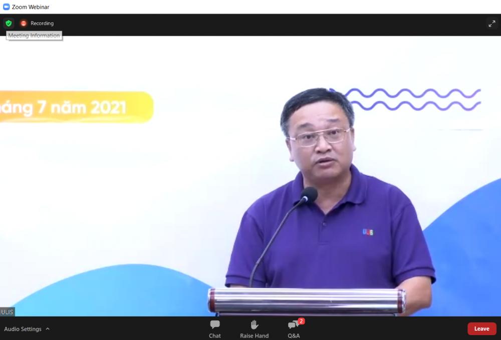 Lễ bế giảng trực tuyến ý nghĩa của sinh viên ĐH Ngoại Ngữ, ĐHQG Hà Nội - Ảnh 1.