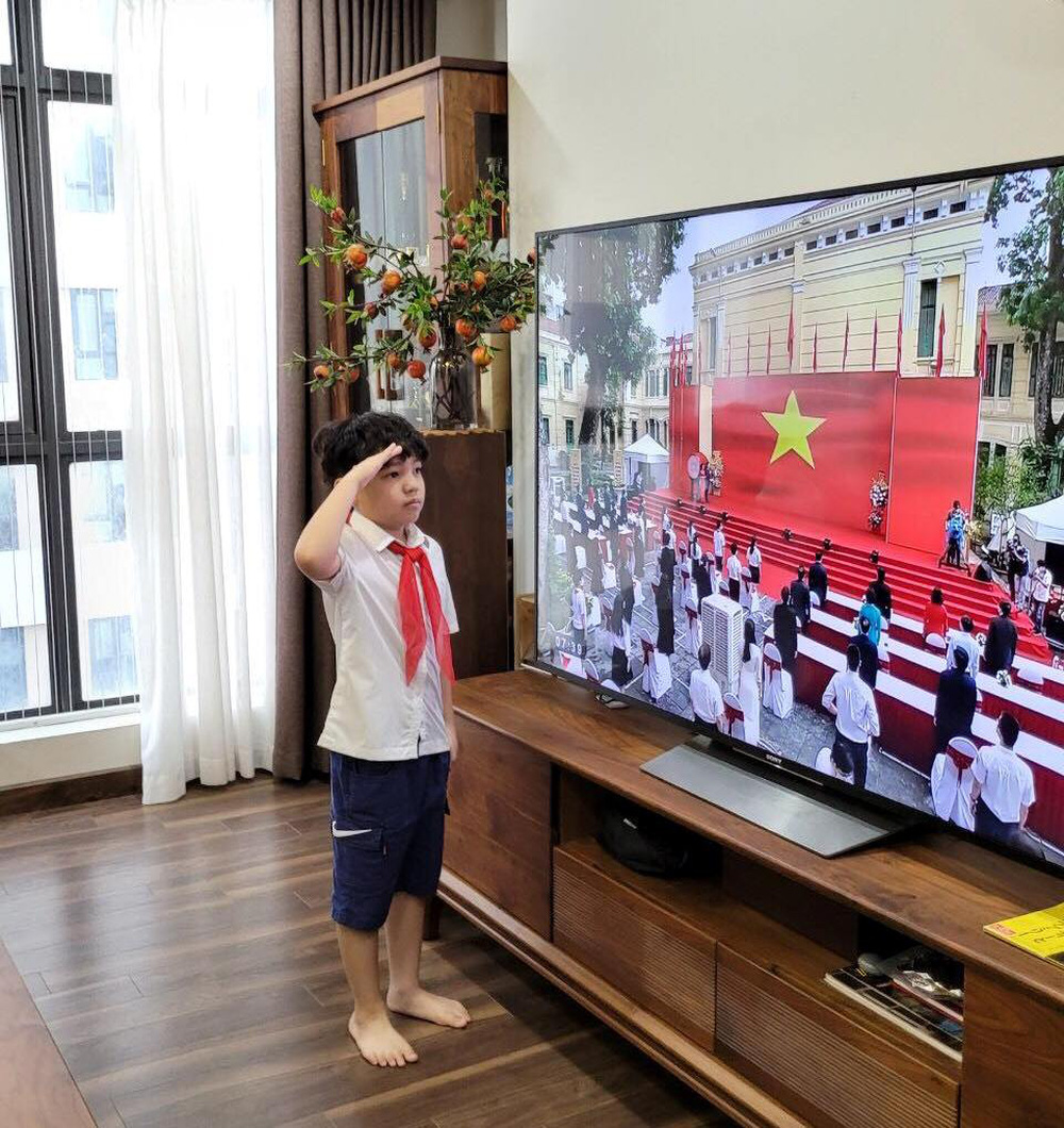 Ảnh: Lễ khai giảng năm học mới đặc biệt ở Hà Nội - Ảnh 19.