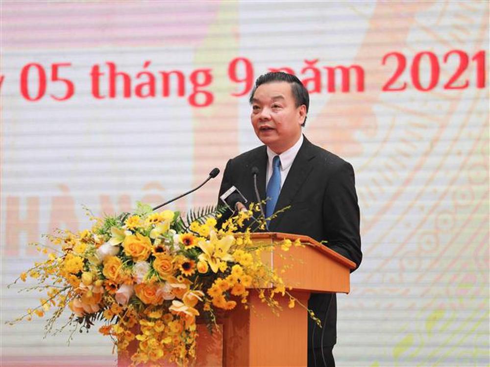 Ảnh: Lễ khai giảng năm học mới đặc biệt ở Hà Nội - Ảnh 15.