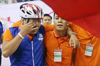 Nước mắt chiến thắng của nhà vô địch