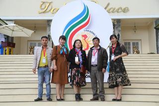 Đoàn đại biểu Đài PT-TH tỉnh Lai Châu đến với LHTHTQ 38