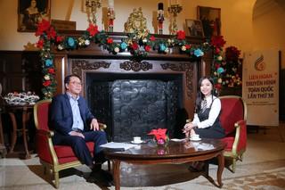 GLTT với ông Nguyễn Hà Nam - Phó Trưởng Ban thường trực BTC LHTHTQ 38