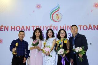 Ban Thời sự, Đài THVN bội thu với 3 giải Vàng