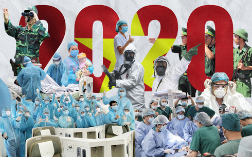Thiên tai, dịch bệnh không thể cản bước lòng tự hào Việt Nam!