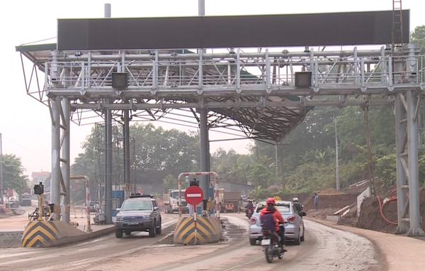 Thái Nguyên: Đường không làm mới vẫn mở trạm thu phí