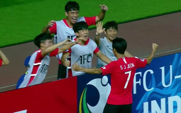 TRỰC TIẾP BÓNG ĐÁ, U19 Jordan 0-1 U19 Hàn Quốc: Cho Young-Wook mở tỷ số trận đấu