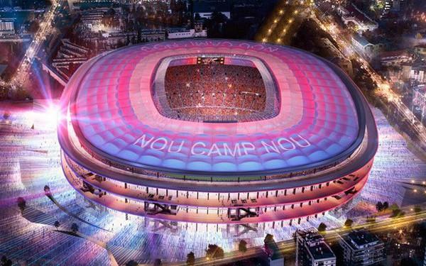 Năm 2023, sân Nou Camp nâng cấp lên 105.000 chỗ ngồi như thế nào?