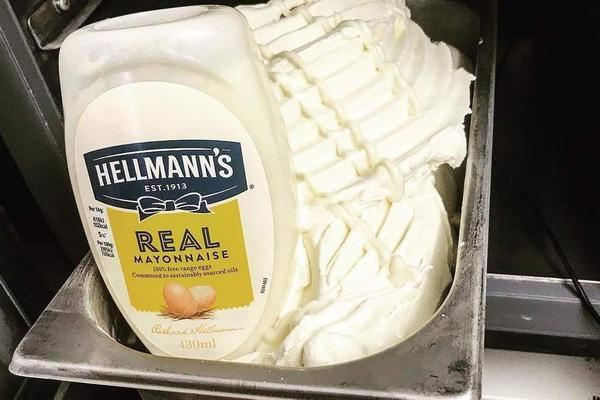 Ra mắt kem làm từ Mayonnaise tại Anh - ảnh 1