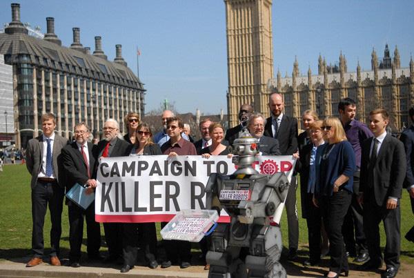 Chiến dịch kêu gọi cấm vũ khí AI giết người - ảnh 1