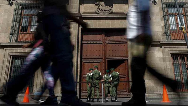 Xả súng gần dinh Tổng thống Mexico, 4 người thiệt mạng - ảnh 1