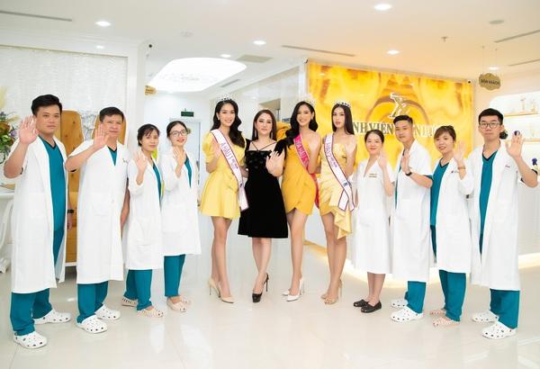 Có gì trong Bệnh viện thẩm mỹ Xuân Hương - Nơi chăm sóc sắc đẹp cho Top 3 Hoa hậu Việt Nam 2020?