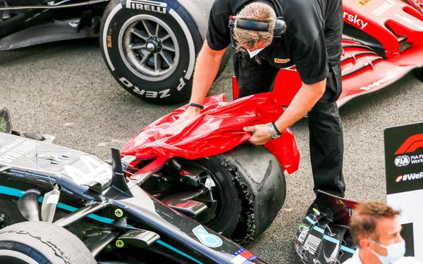 Pirelli sẽ mở cuộc điều tra toàn diện sau sự cố nổ lốp tại GP Anh