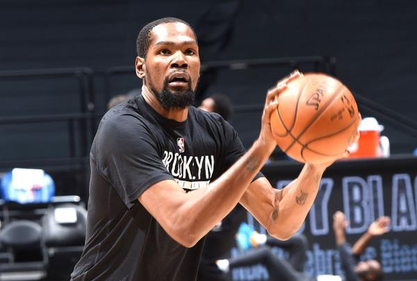 Kevin Durant sẽ vắng mặt ở ngày hội All-star 2021