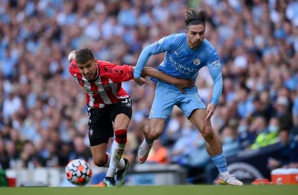 Manchester City bị Southampton cầm hòa ngay tại Etihad