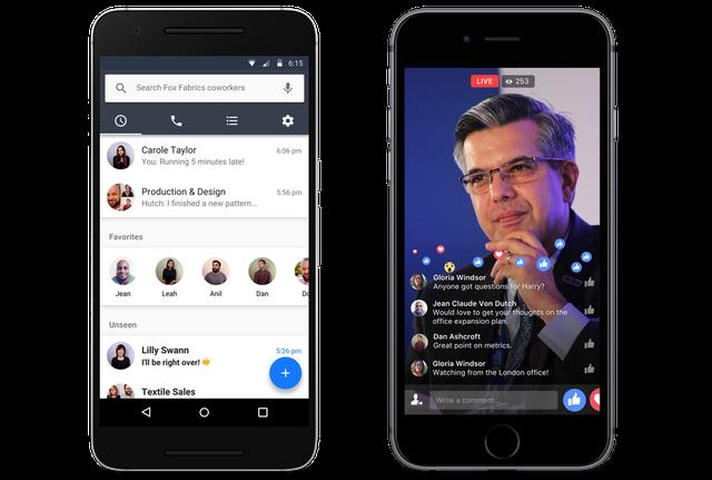 Facebook ra mắt Workplace - mạng xã hội dành cho công sở - Ảnh 1.