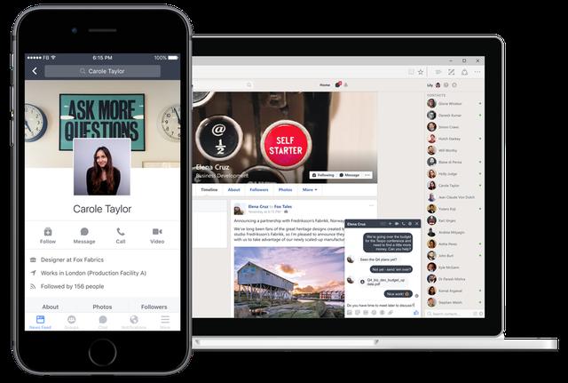 Facebook ra mắt Workplace - mạng xã hội dành cho công sở - Ảnh 2.
