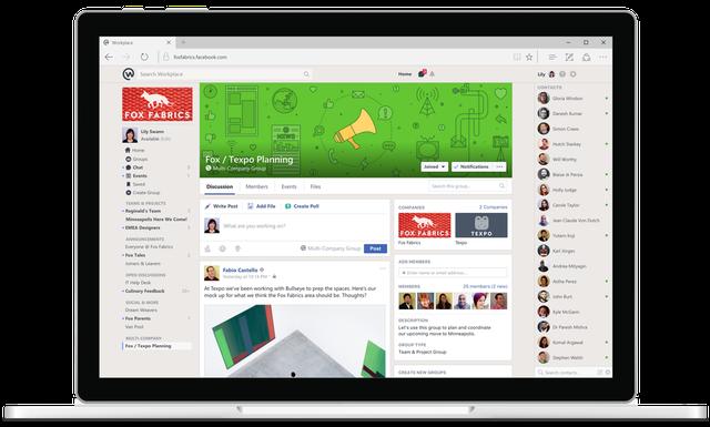 Facebook ra mắt Workplace - mạng xã hội dành cho công sở - Ảnh 4.