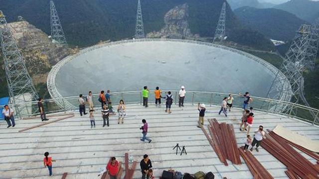 Trung Quốc thử nghiệm kính viễn vọng lớn nhất thế giới - Ảnh 3.