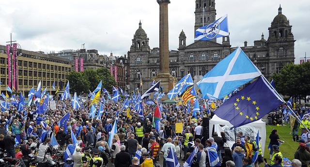Điểm tin quốc tế 17/10: Scotland có thể trưng cầu dân ý độc lập lần 2 - Ảnh 1.