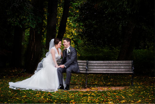 Những bức ảnh cưới tuyệt đẹp mang màu sắc của mùa thu - Ảnh 8.