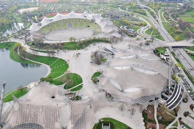 12 sân vận động đẹp nhất thế giới từng tổ chức Olympic - Ảnh 3.