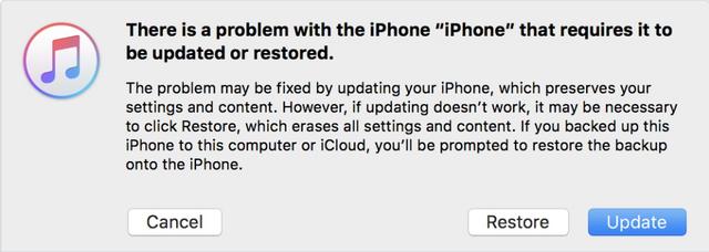 """Xử lý thế nào nếu iPhone trở thành """"cục gạch"""" sau khi lên đời iOS 10? - Ảnh 1."""