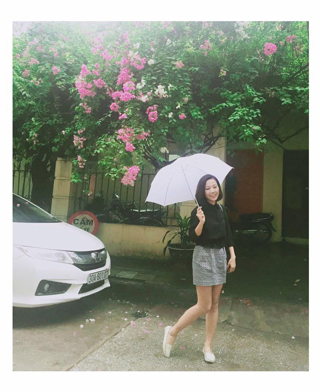 Ngoài Mai Ngọc, cô nàng thời tiết này cũng hút fan không kém - Ảnh 8.