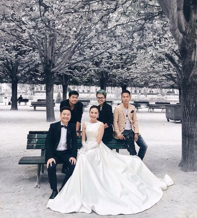 Ảnh cưới như cổ tích của cô nàng thời tiết Mai Ngọc - Ảnh 9.